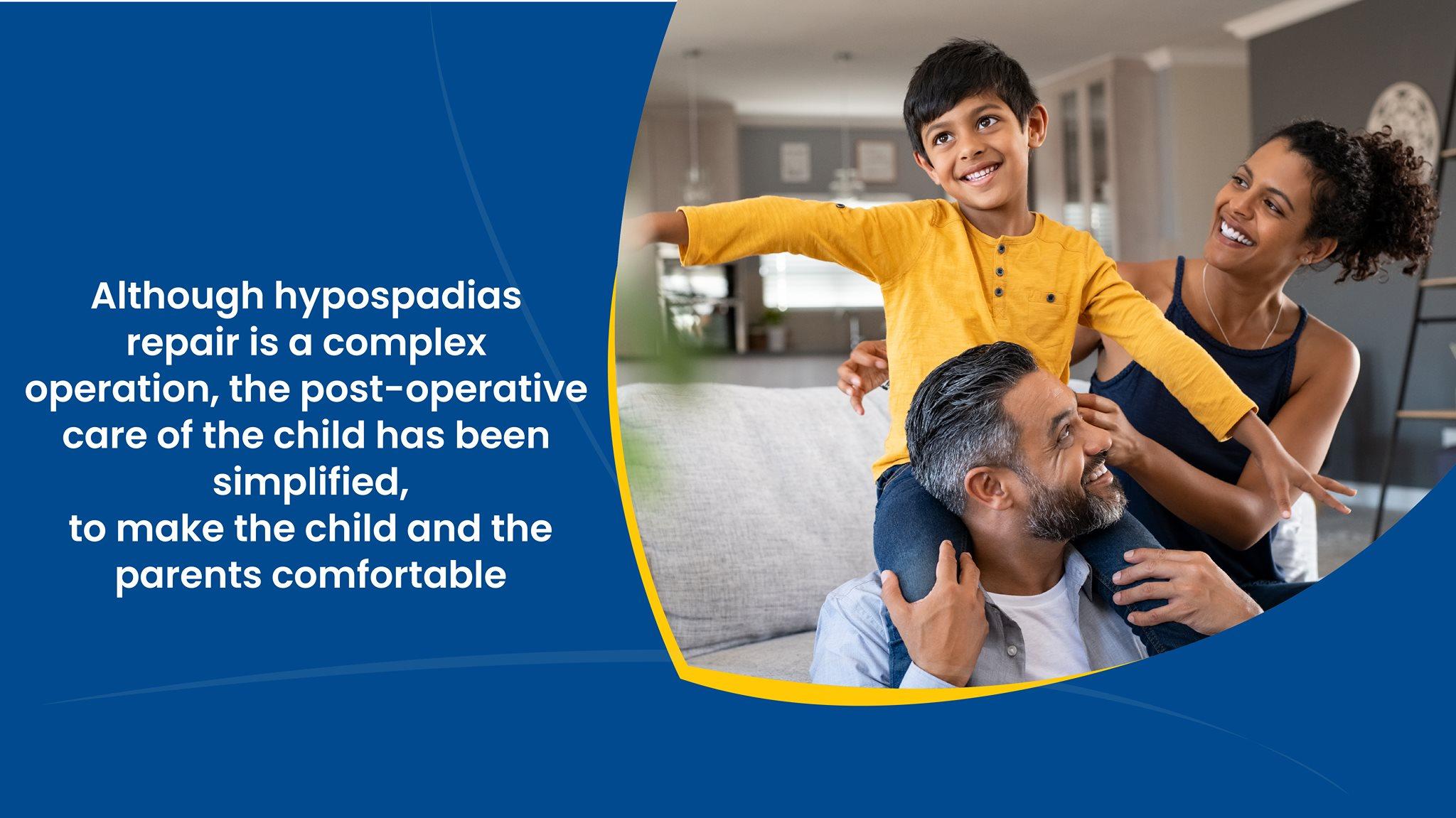 Although hypospadias repair