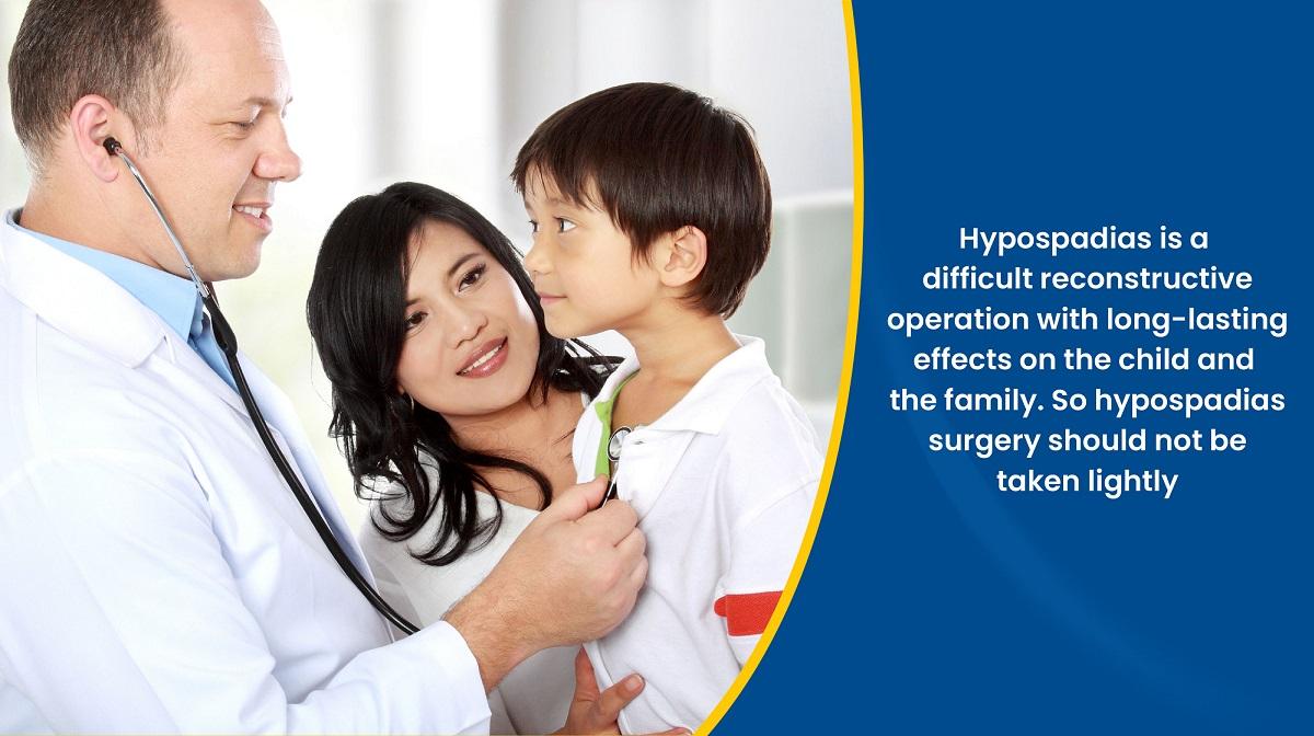 Hypospadias Surgery should not be taken lightly